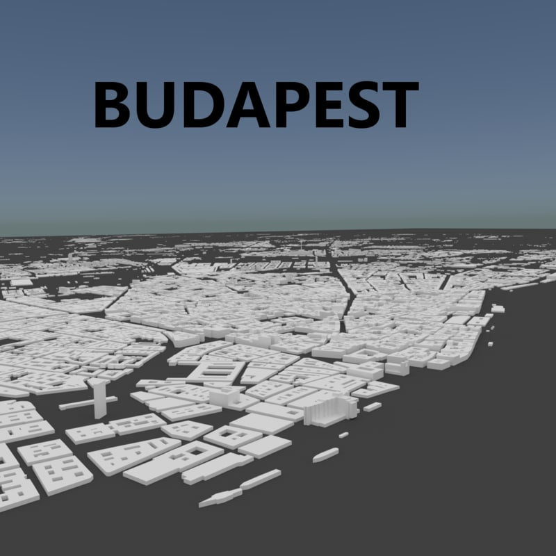 3D complete budapest