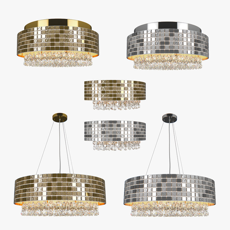 3D chandelier bezazz lightstar model