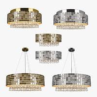 3D chandelier bezazz lightstar model