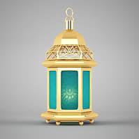 islamic lantern 3D model