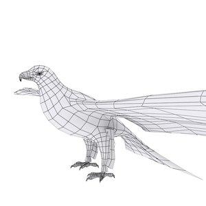 eagle flying model