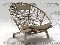 pp130 chair 3D model