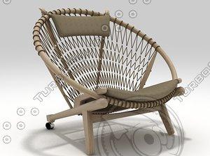 pp130 chair 3D model