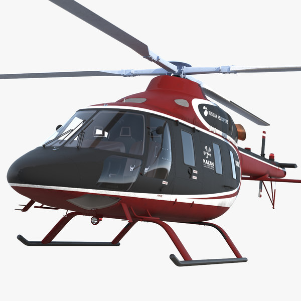 kazan ansat russian light 3D model