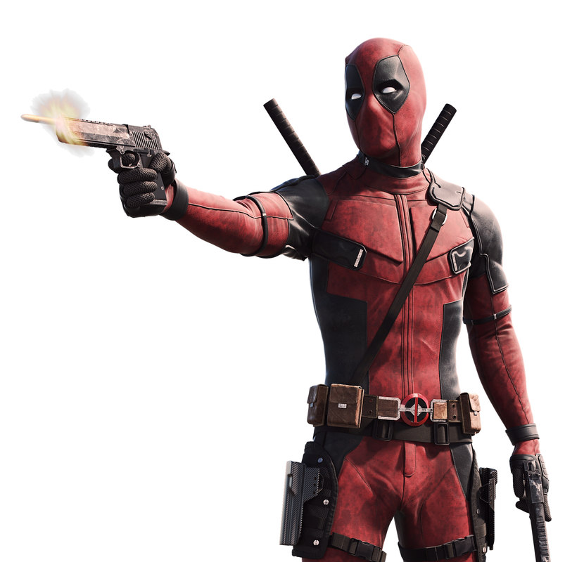 realistic deadpool model