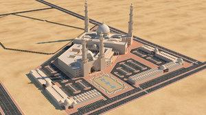 mosque model