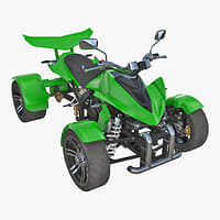 3D quad bike spy racing
