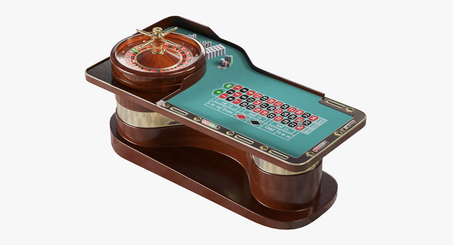 roulette table model