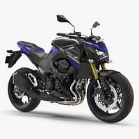 Standard Motorcycle Kawasaki Z800 2016