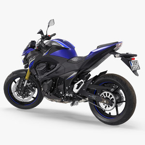 standard motorcycle kawasaki z800 3D