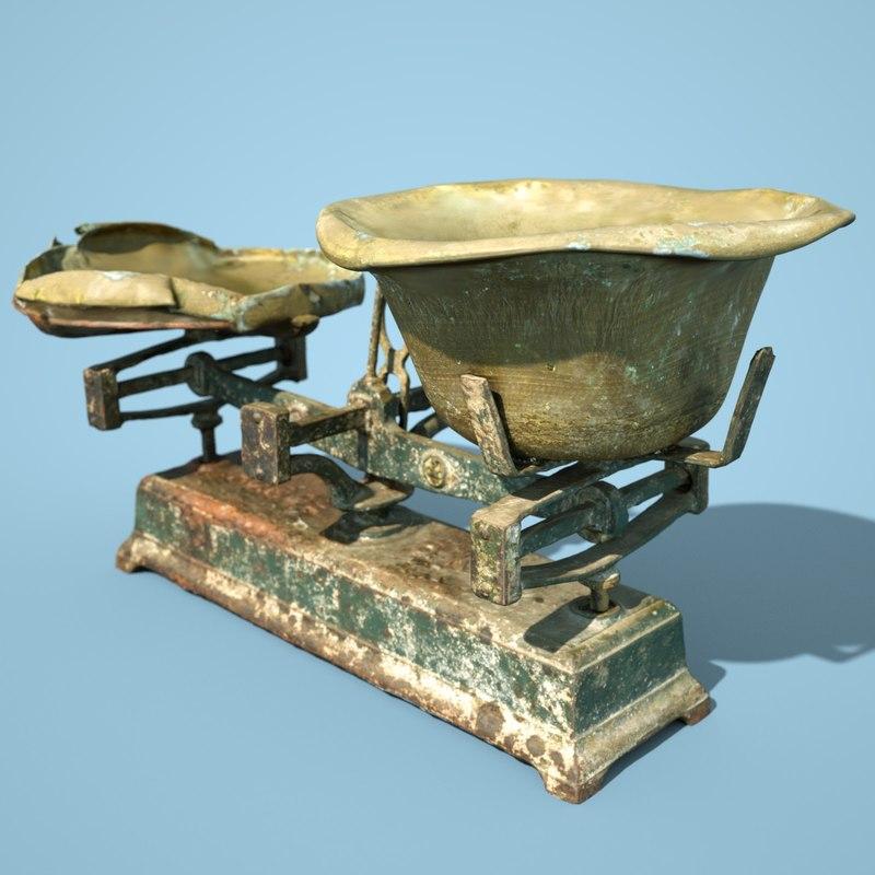 3D balans industrial scale