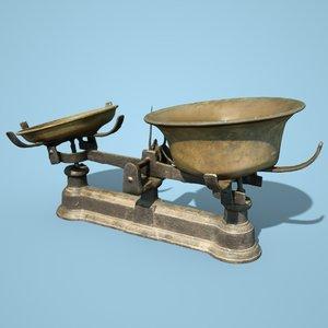 balans industrial scale 3D