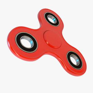 3D model fidget spinner