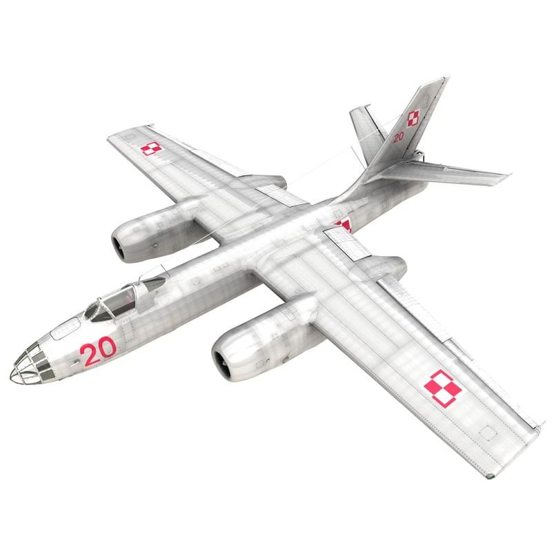 3D ilyushin il-28 beagle bomber