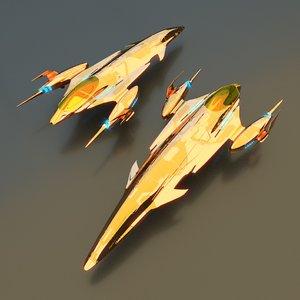 3D model royal cruiser