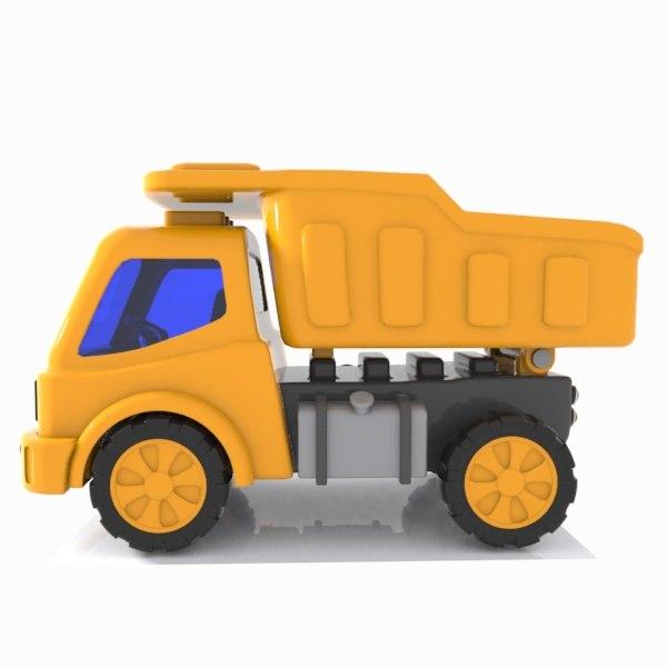 3D truck toon