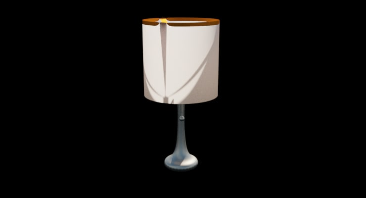3D lamp subdividing