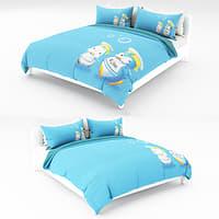 3D bed kid model