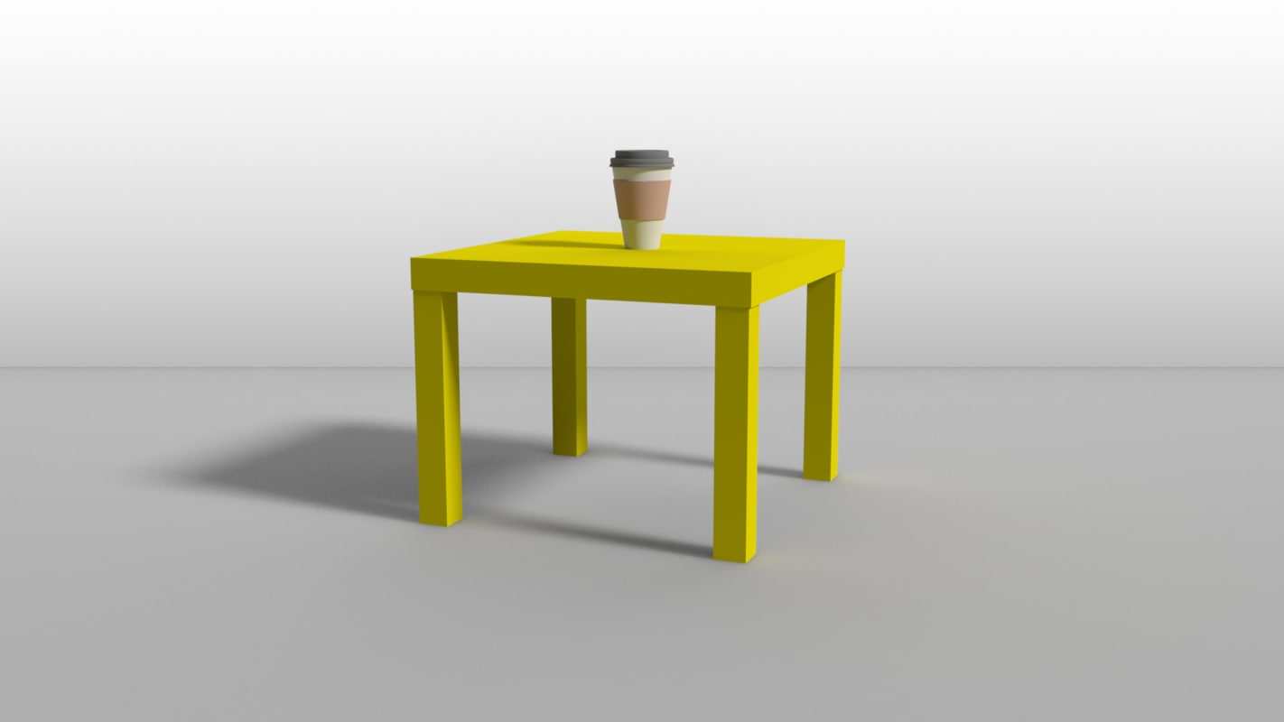 ikea lack - table model