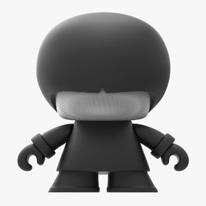 xoopar xboy speaker 3D model