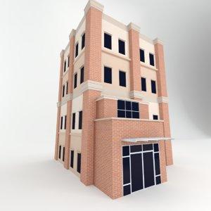 realistic build professionally 3D model