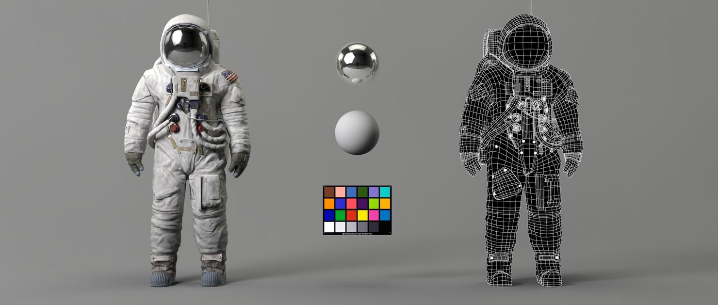 lars amstrong suit replica 3D