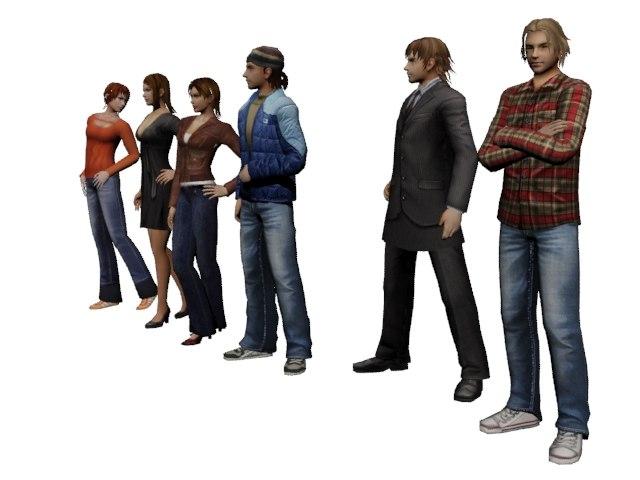 3D 3ds max model