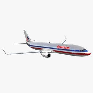 boeing 737-900 american airlines 3D model