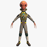 Alien the outer space human