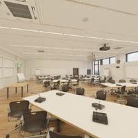 Photorealistic Masterclass Post Graduate Classroom