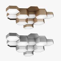 chandelier 750123 favo lightstar 3D model