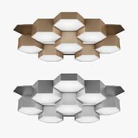 3D chandelier 750163 favo lightstar model