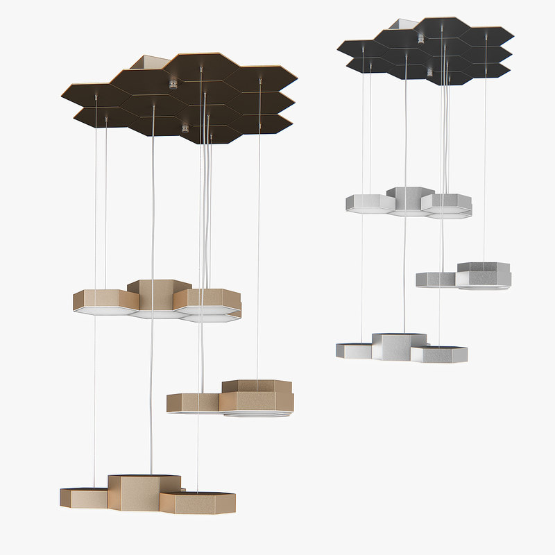 3D chandelier 750223 favo lightstar
