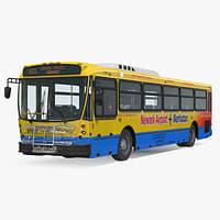 bus nabi 416 nyc 3D model
