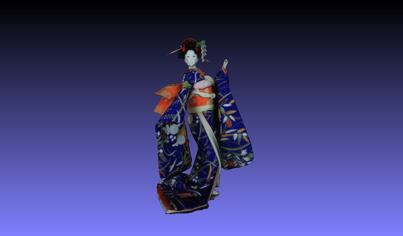 3D geisha