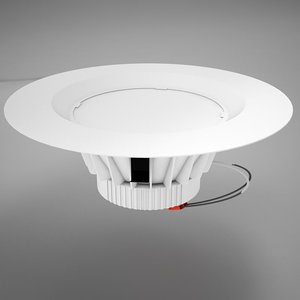 led 9w downlight 3D