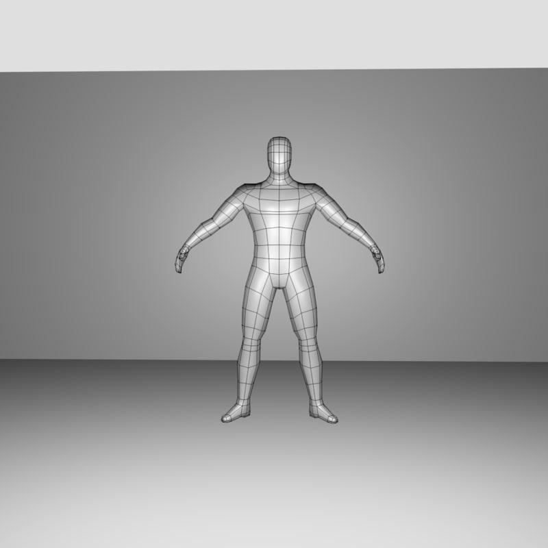base mesh model