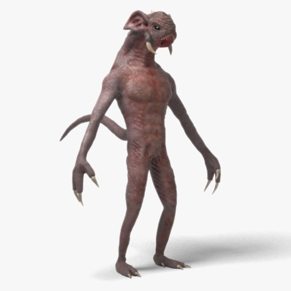 creature z 3D model
