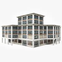 big factory 3D model