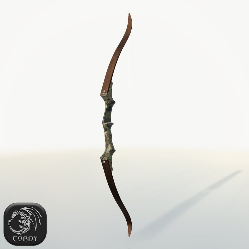 3D realistic bow