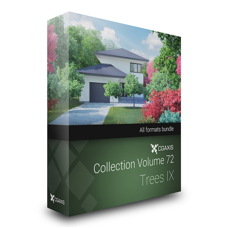 3D model volume 72 trees ix