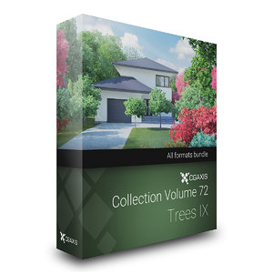 3D model volume 72 trees ix