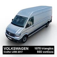 crafter 2017 lwb 3D model