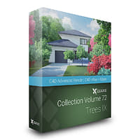 3D cgaxis volume 72 trees