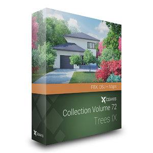 volume 72 trees ix 3D model