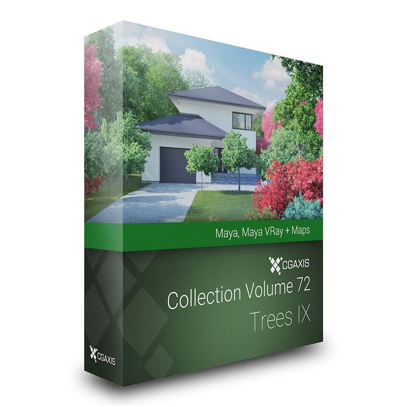 3D volume 72 trees ix