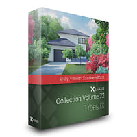 3D volume 72 trees ix