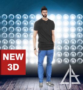 3D imvu file asset model