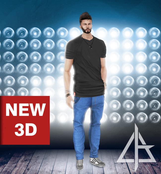3D imvu file asset