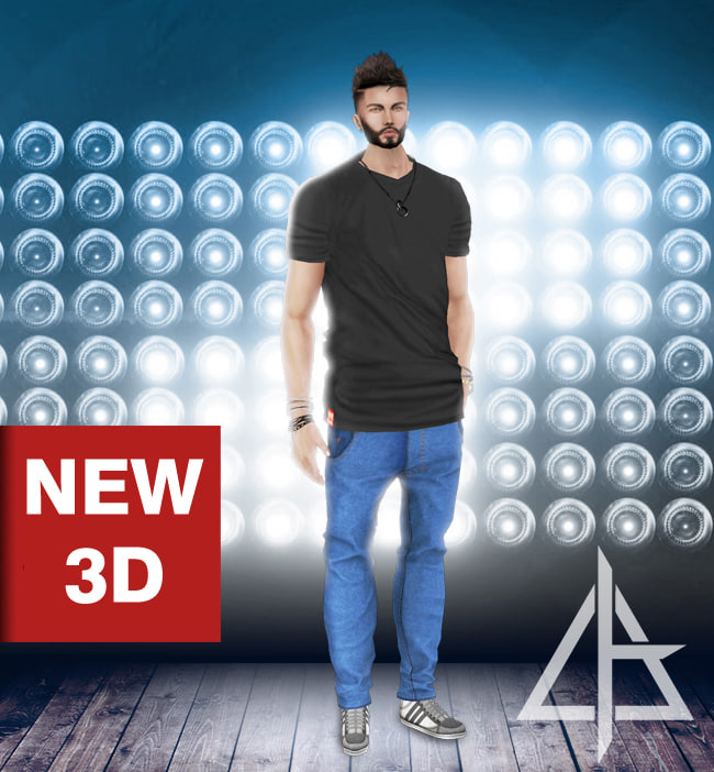 3D model imvu file asset